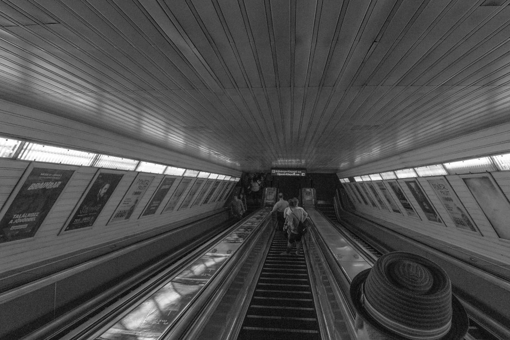 Going Down - Budapest Subway