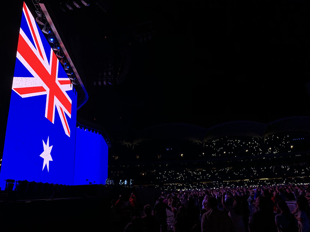 U2 The Joshua Tree Tour 2019 - Adelaide, Australia